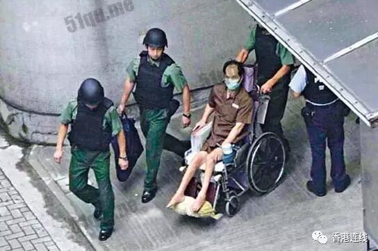 1996年,葉繼歡因持槍搶劫案被判36年(網絡圖片)