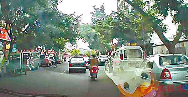 ■市民金先生追蹤疑犯車。 網上圖片