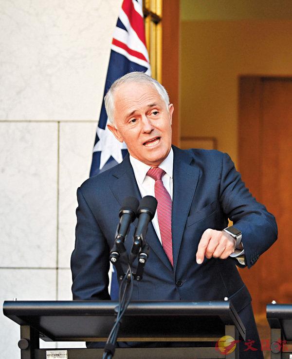 ■特恩布爾認為澳洲公民必須有能力用英語溝通。 路透社
