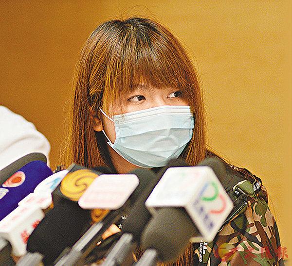■捐肝救人的鄭凱甄已出院,她表示,若重新選擇一次,都會再捐肝。梁祖彝   攝