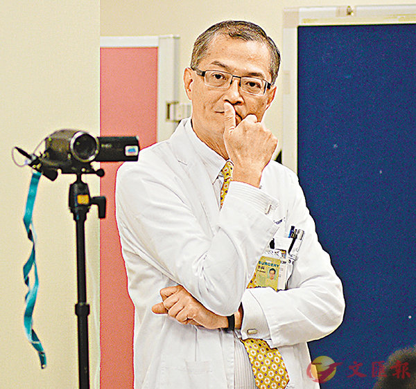 ■瑪麗醫院肝臟移植中心總監盧寵茂。梁祖彝  攝