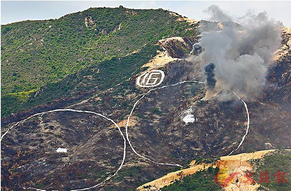 青山靶場遭非法耕種  駐軍清理整治 (圖)