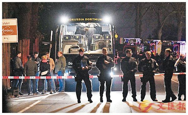 ■多蒙特隊巴本月11日遭炸彈襲擊,原定當晚舉行的歐聯賽事延期。 美聯社