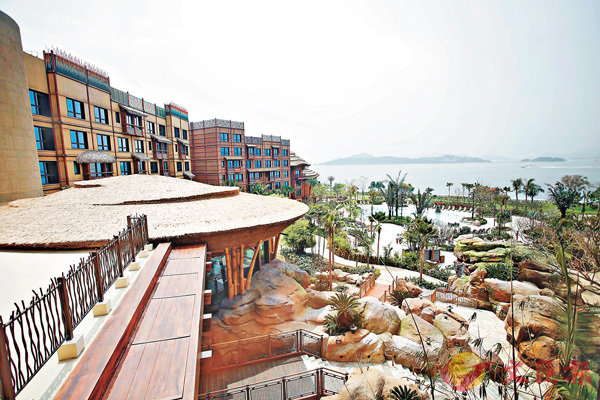■迪士尼探索家度假酒店將於4月30日開幕,提供750間客房。 劉國權  攝