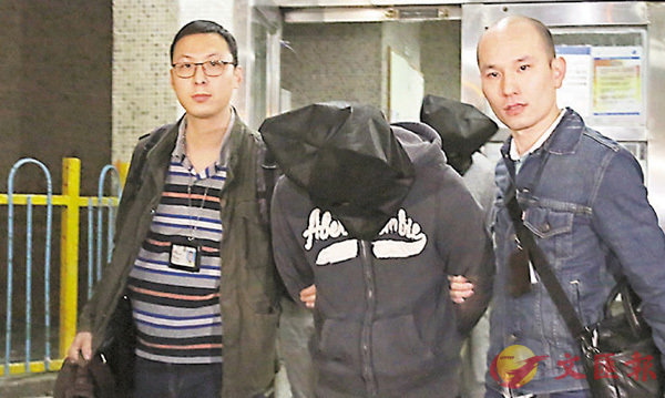 ■涉案兄弟被帶署扣查。