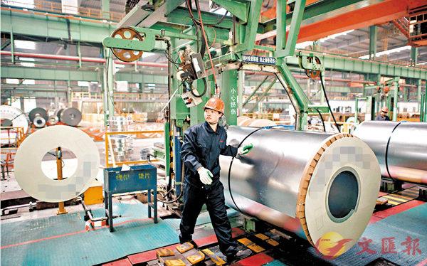 ■工信部為鋼企規範名單「清淤」。圖為河北一間鋼鐵廠。資料圖片