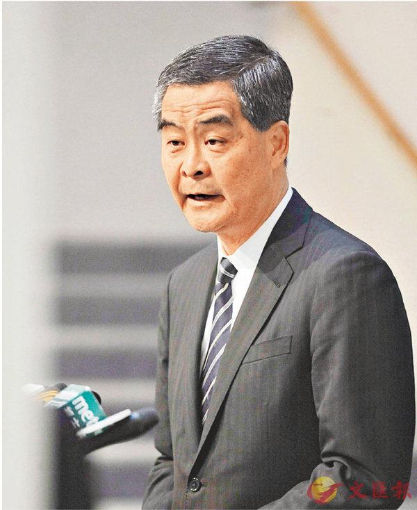 特首:港人北上增  大趨勢「唔使迫」 (圖)