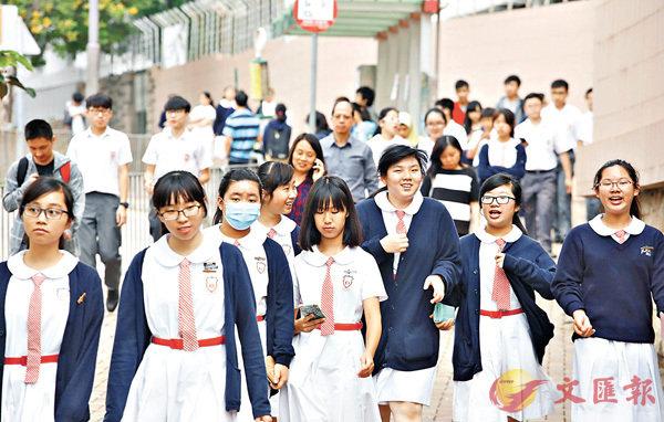 ■審計報告指,語文基金對香港中小學採用「普教中」研究仍未有得出較明確結論。 劉國權 攝