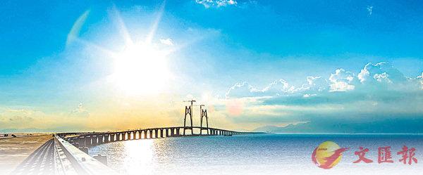港珠澳大橋海隧全線合龍 (圖)