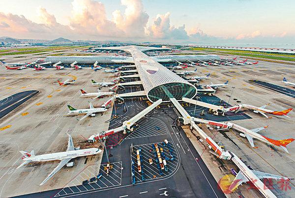 深圳機場首季客流量超千萬 (圖)