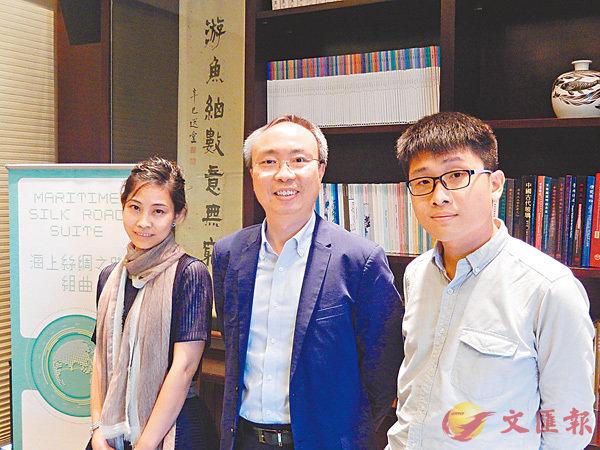 ■鄧思穎(中)提倡在學校中文課程適當加入粵語拼音及語法等基礎知識。姜嘉軒  攝