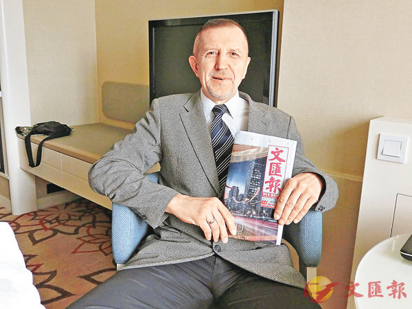 ■偉利奇科-瓦連京博士(Valentyn Velychko)接受本報獨家專訪。