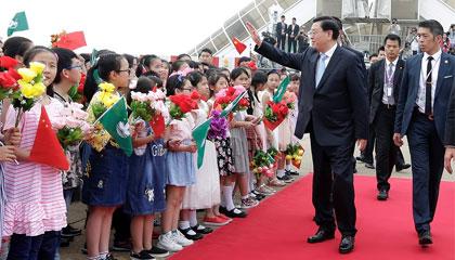 王志民:張德江視察澳門彰顯中央全面管治權
