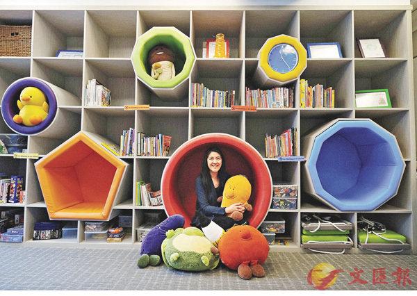 ■Christine八年前開辦了品德教育中心JEMS Learning House。 梁祖彝 攝