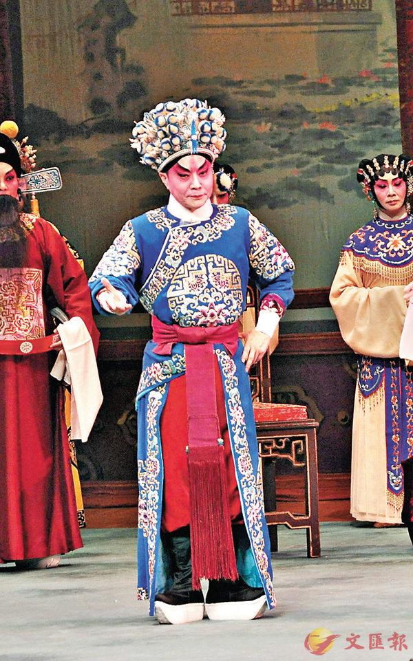 ■阮兆輝為推廣傳統粵劇,近年花了不少精力。