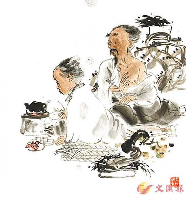■隨�蚑d文回歸中文科考試,莊子的《逍遙遊》再度成為考生的考試範圍。 資料圖片
