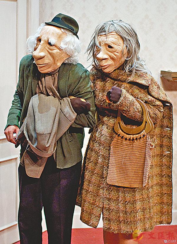 ■世界頂級默劇《安德魯與多莉尼》也將在新天地上演。香港文匯報上海傳真
