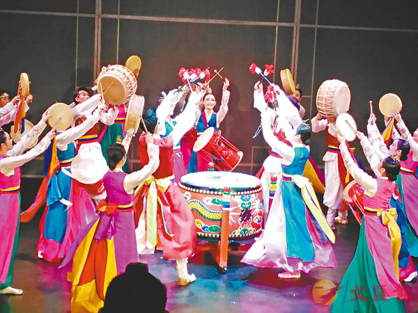 ■韓國積極向外推銷其自家文化產品,對不少人而言,傳統歌舞確是相當印象深刻的。