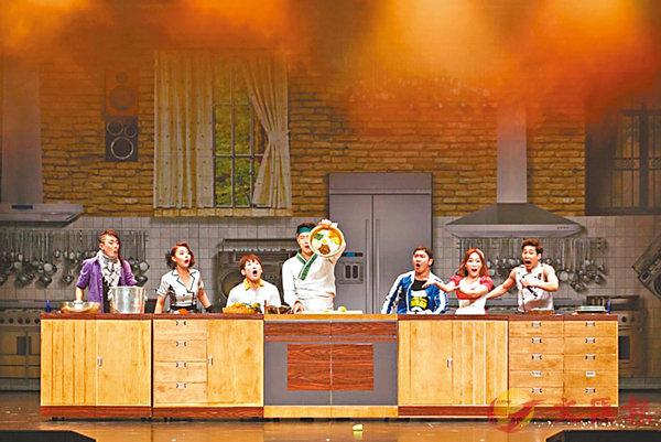 ■於澳門巴黎人劇場上演的《拌飯秀》,以韓國著名的韓式拌飯做主題。
