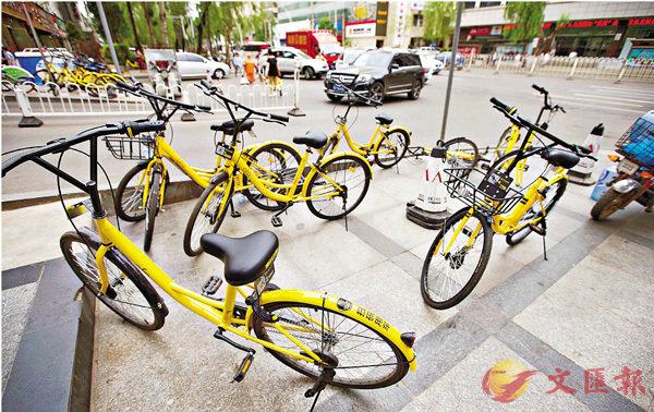 共享單車亂象  交通部擬實名管理 (圖)