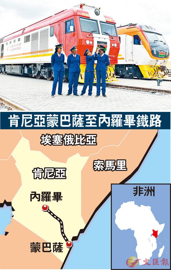 蒙內鐵路明通車  非洲首條中國造 (圖)