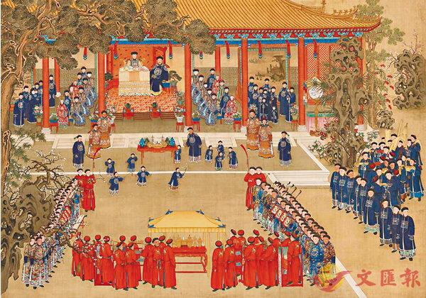 ■萬壽載德-清宮帝後誕辰慶典展覽。