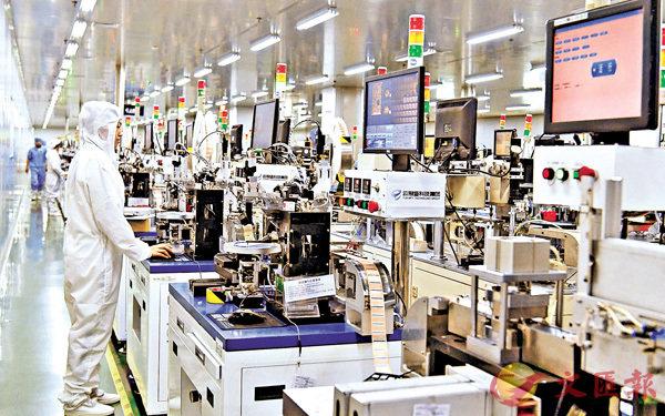 內地製造業PMI連續8月高於51% (圖)