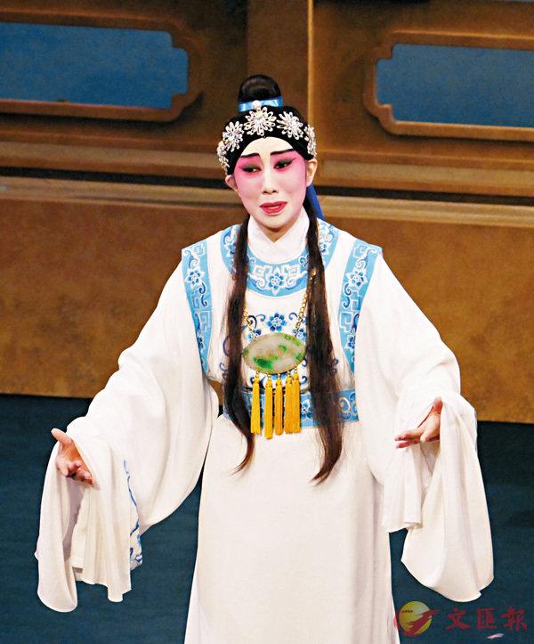 ■千珊時常扮演賈寶玉,有頗多的舞台經驗。