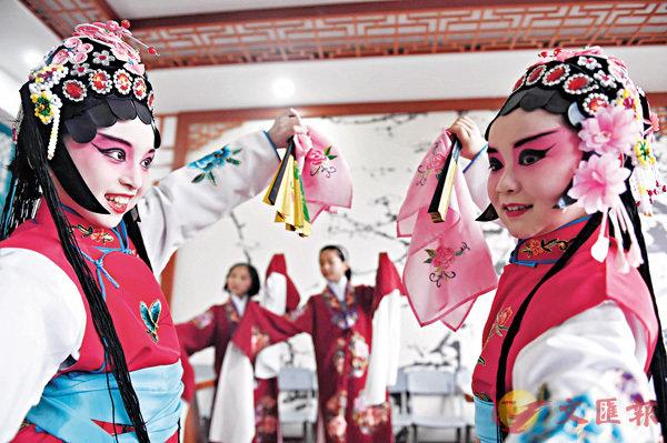■戲曲融入學生生活,將傳統文化發揚光大。