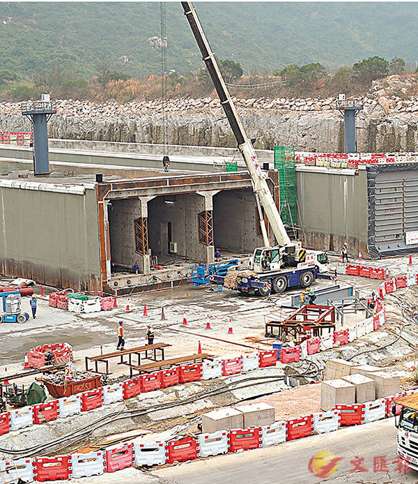 ■財委會審議沙中線前期建造工程的逾8.47億港元追加撥款。資料圖片
