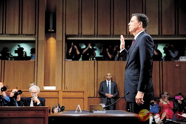 特朗普怒罵「洩密者」 (圖)