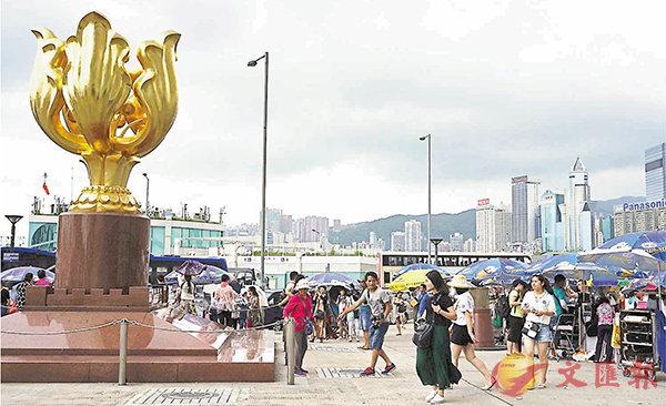 訪港慶回歸  料日均200團升15% (圖)