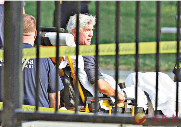 美槍手襲國會議員  共和黨黨鞭中槍 (圖)