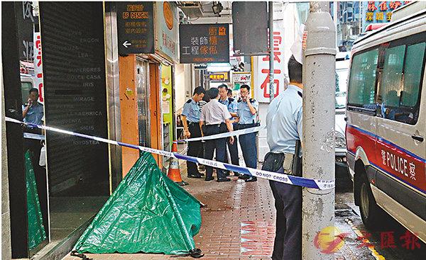 ■老翁街頭暈倒逾2小時,終疑失救證實不治。
