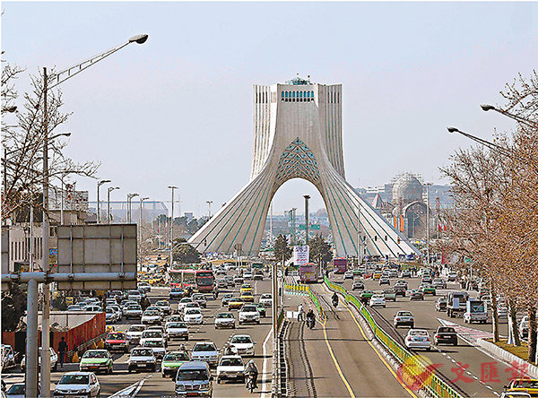 ■兩國擔心伊朗的影響力上升。圖為德黑蘭地標 資料圖片