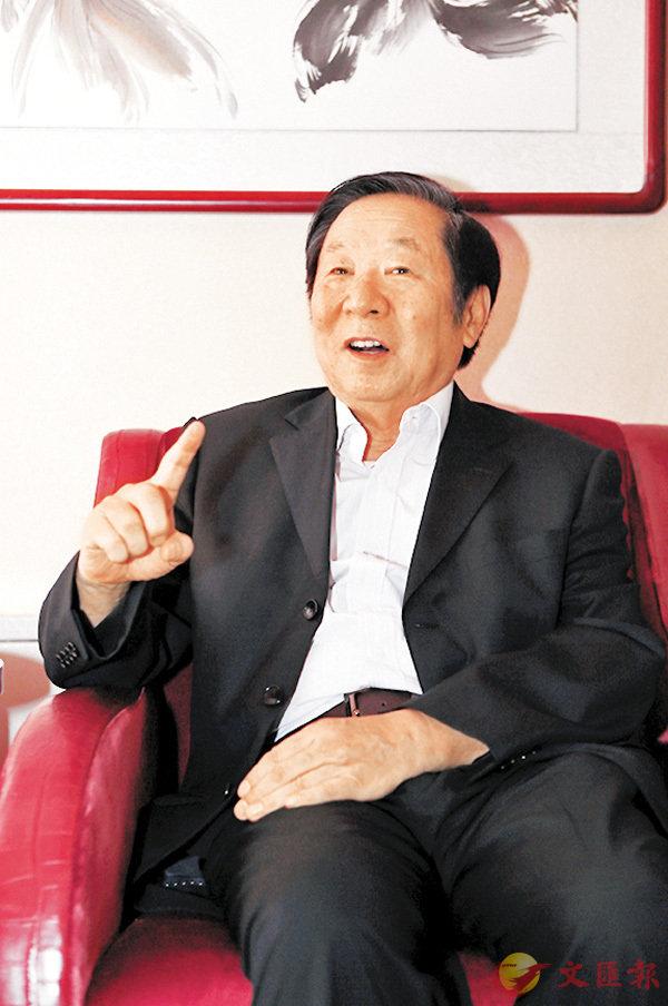 ■陳佐洱表示,「一國兩制」是保持香港長期繁榮穩定的最好制度安排。 中新社