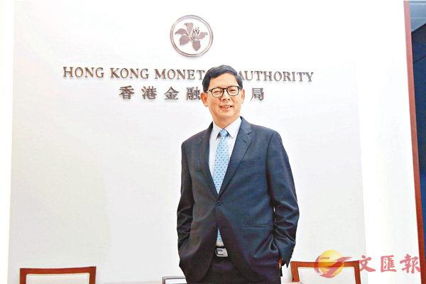 ■金管局總裁陳德霖強調:「沒有一間銀行可以諗冒多些風險賺多些,出事以後由政府包底」。 香港文匯報記者彭子文  攝
