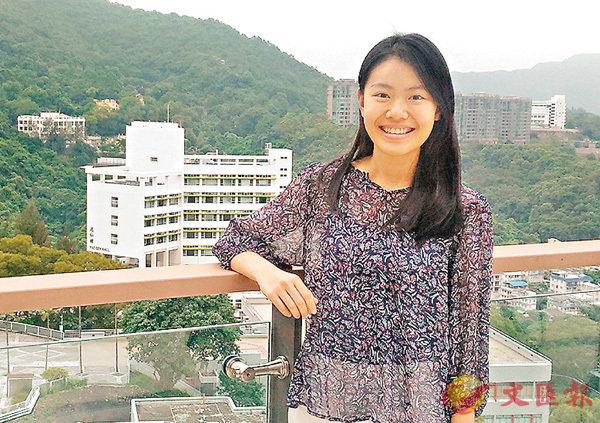 ■鍾芯豫自小已很注重環保,希望令香港變得更「健康」、更怡人。