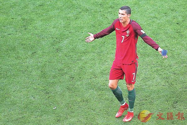 ■C朗不滿葡萄牙表現。 法新社