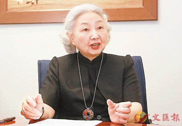 ■梁愛詩希望公眾明白民主的意義。 香港文匯報記者彭子文 攝