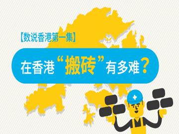 香港20   數說香港1:在香港「搬磚」有多難?