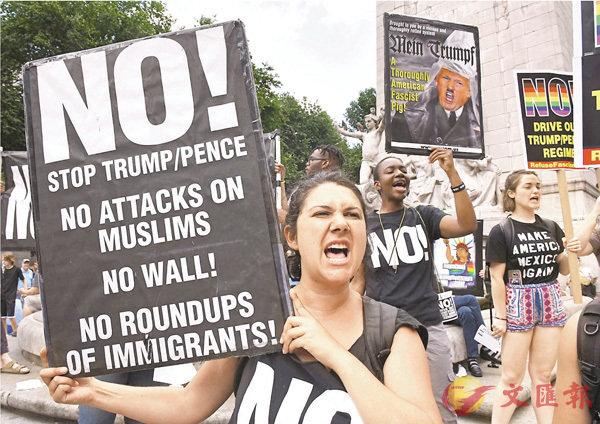 ■美入境禁令恢復執行後,勢再度掀起一連串示威行動。 法新社