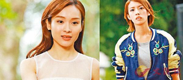 ■蔡思貝(右圖)和李佳芯在新劇《踩過界》中,造型相當突出。