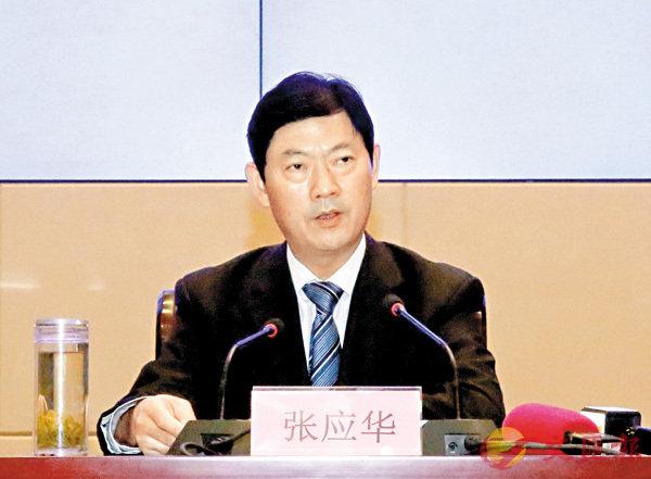 ■張應華表示,蘭洽會是「一帶一路」沿線國家經貿交流的重要平台。香港文匯報記者肖剛  攝