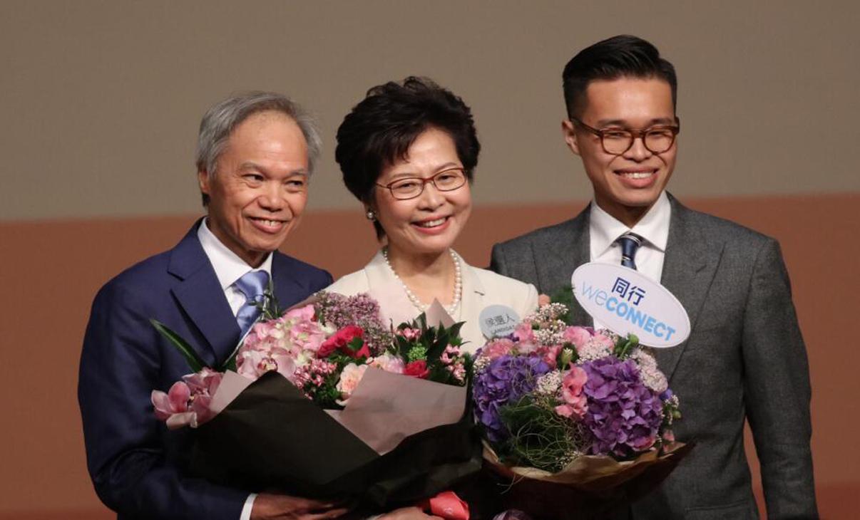 林鄭月娥:公職之外 也做好妻子與母親