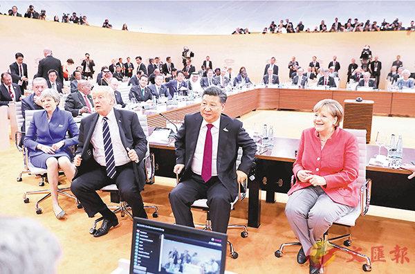 習近平促G20加強宏觀經濟協調 (圖)