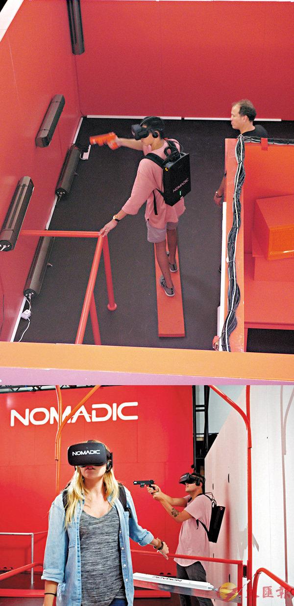 ■Nomadic VR遊戲逼真度高,玩家能感受到真正的高度和強烈的失重感。