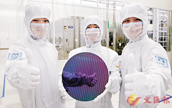 ■三星電子西安半導體工廠生產出的NAND產品。 資料圖片
