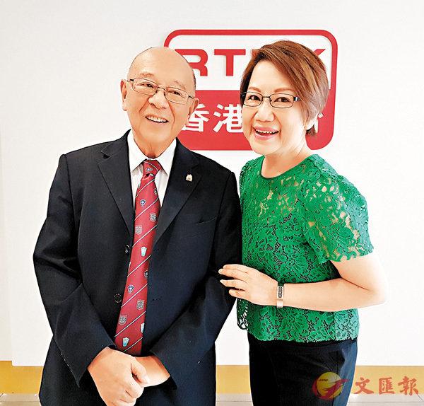 ■藍鴻震是香港回歸後第一任民政事務局局長。 作者提供
