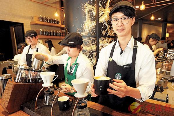 ■點咖啡也能學英文。 資料圖片